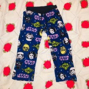Star Wars Fleece Pajamas Adult Medium